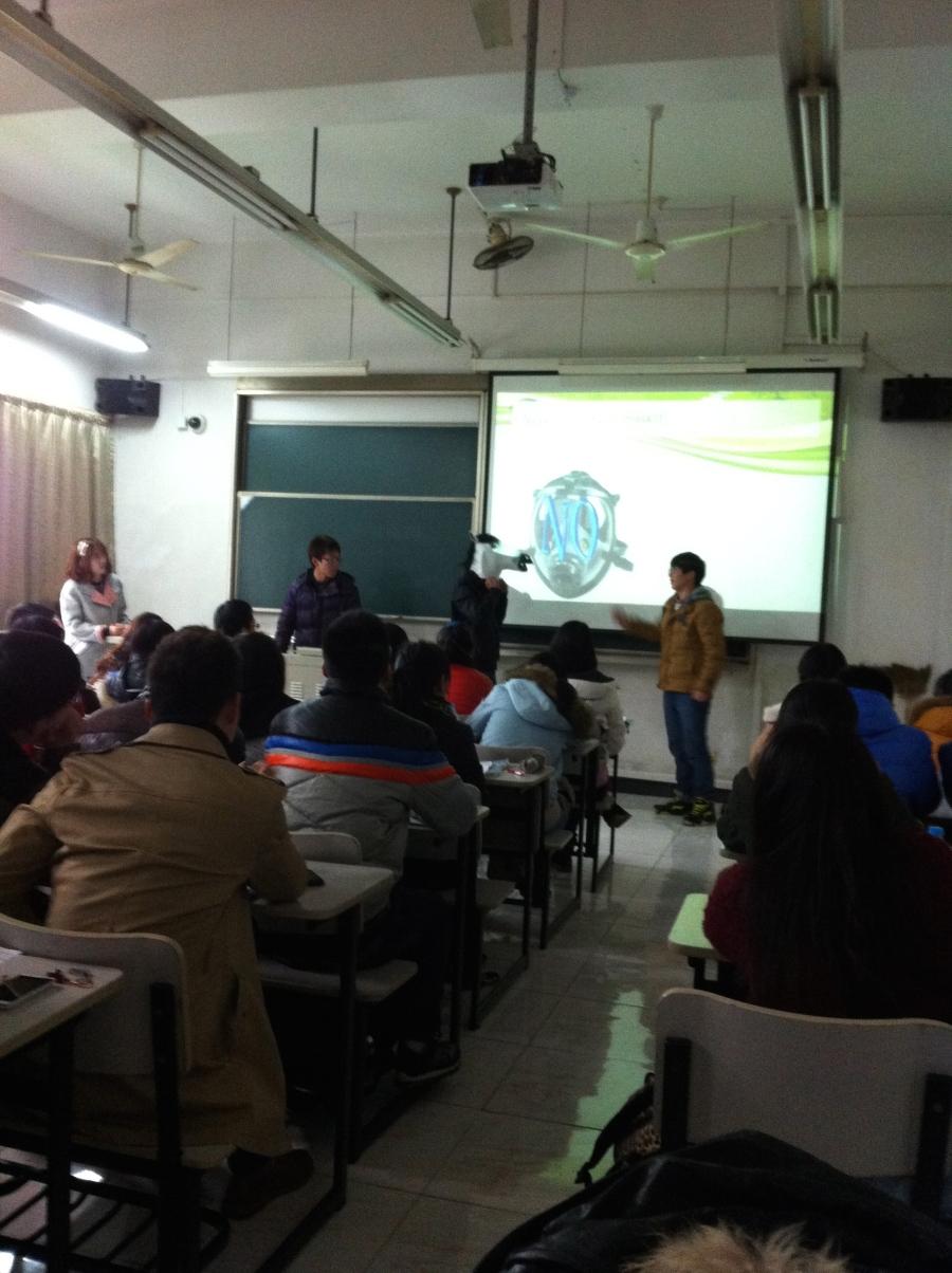 More student presentations