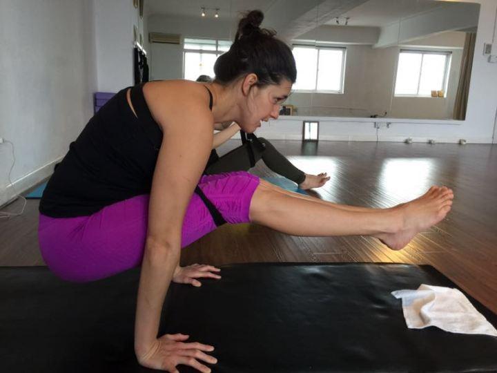 yoga lift off