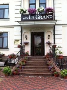 The Le Grand Hotel in Borispol Ukraine