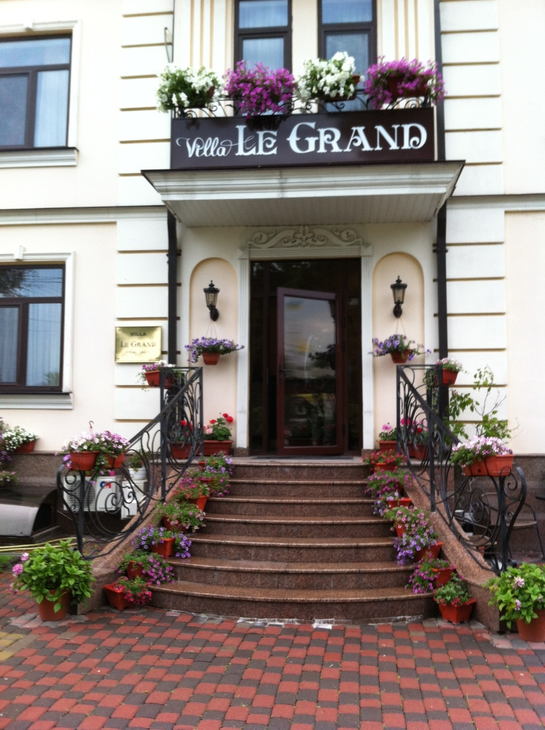 The Le Grand Hotel in Borispol Ukraine