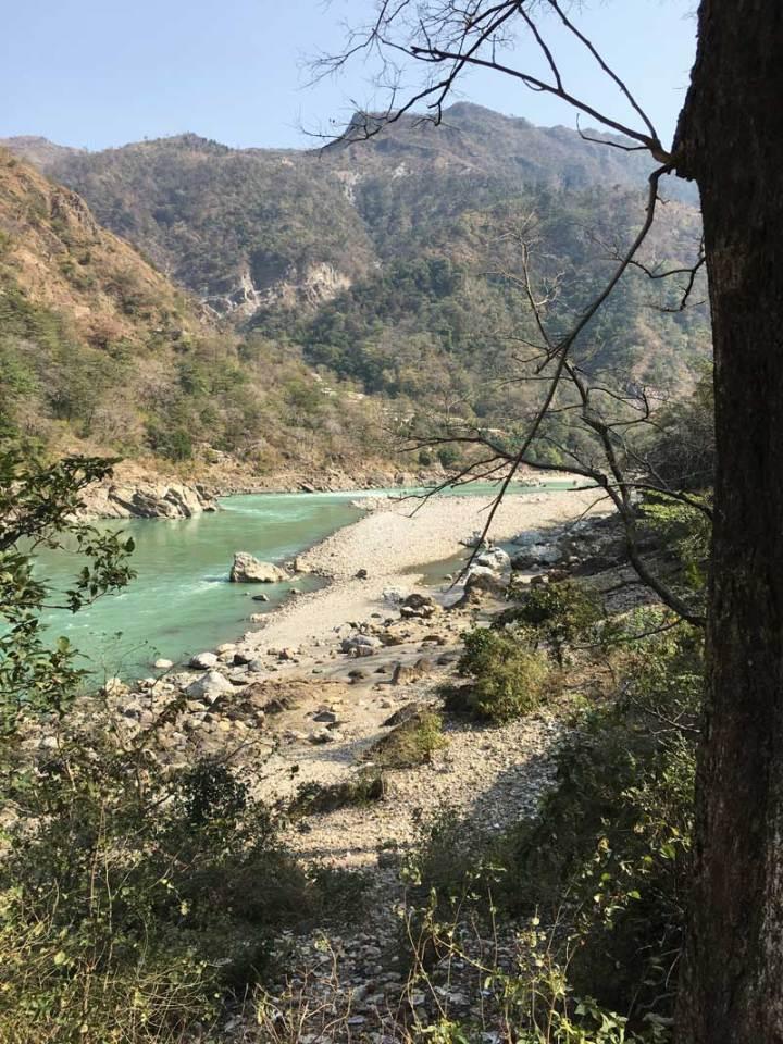 River-overlooking